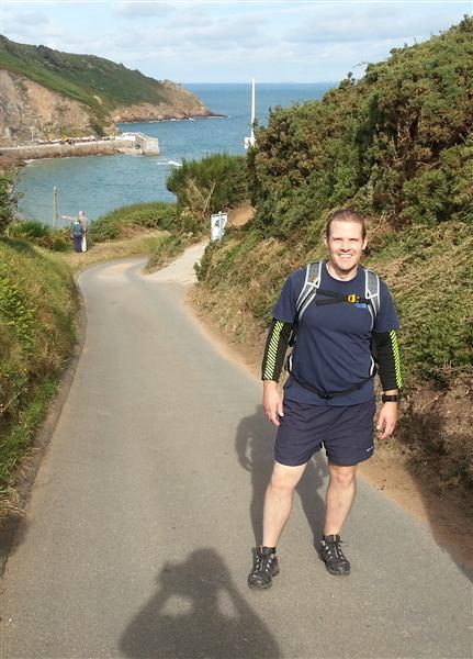 Steve on Jersey Challenge 2012