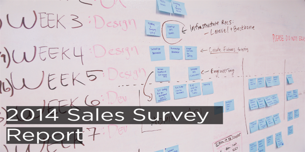 Aaron Wallis 2014 sales survey providing statistics for the industry