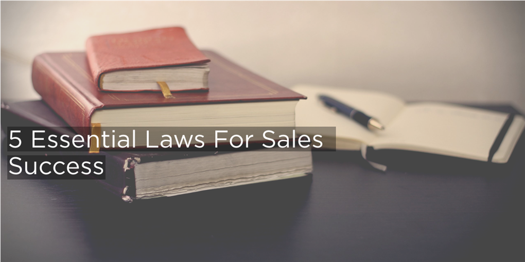 Aaron Wallis's 5 essential laws for sales success