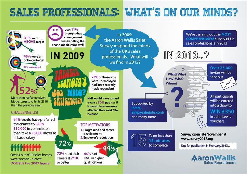 2009 Sales Survey Infographic