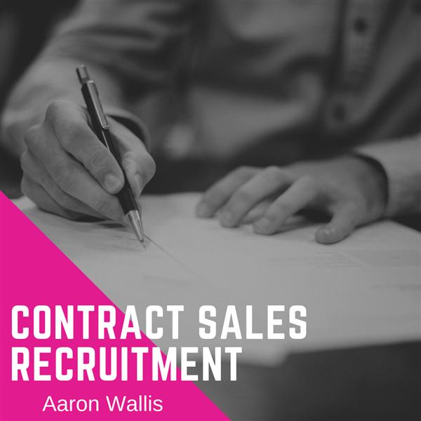 Contract Sales Recruitment