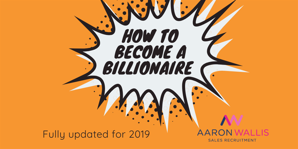 How to become a billionnaire - flash
