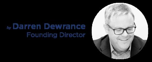 Darren Dewrance Author Banner