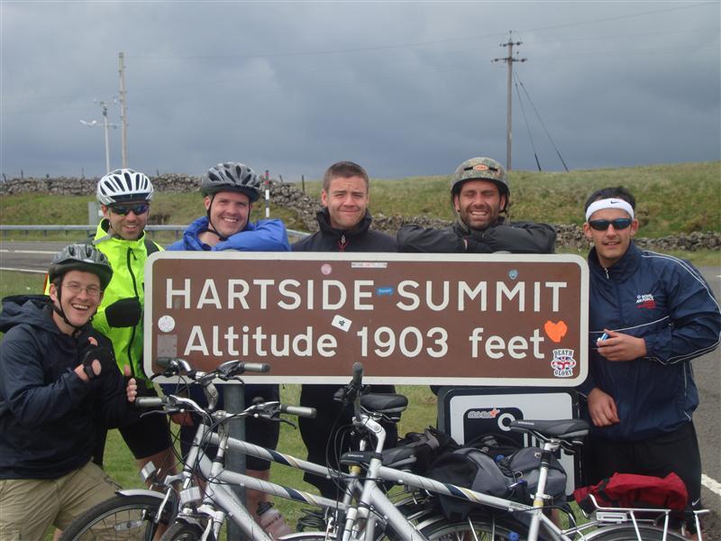 Aaron Wallis Coast to Coast Cycle 2011
