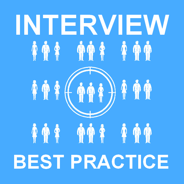 Best practice for interviewing sales staff