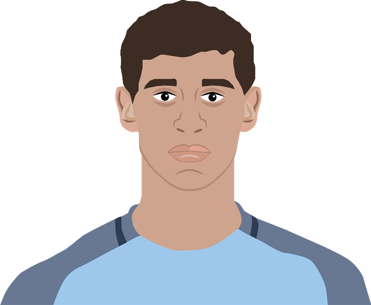 Cartoon of John Stones by Aaron Wallis