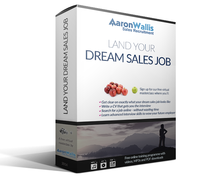 Land Your Dream Sales Job Icon