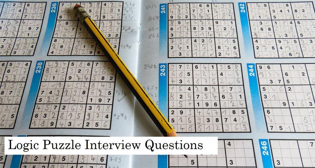 Tech interview puzzles