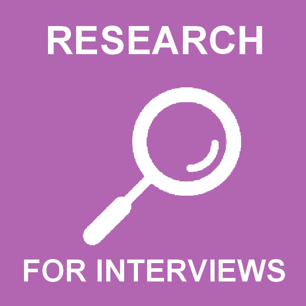 Research required for every interview