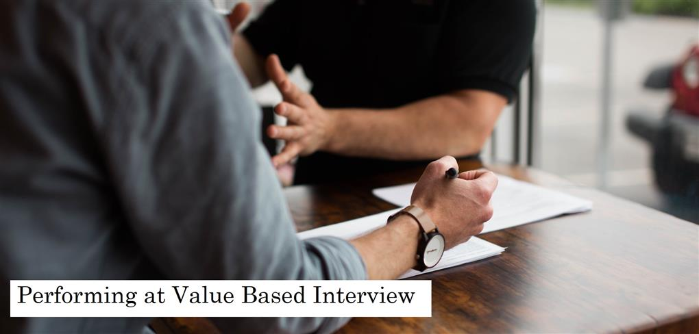 How To Ace A Value Based Interview Aaron Wallis Sales Recruitment